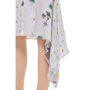 Topshop Skirts - NWT Topshop Boutique Asymmetrical Floral Skirt